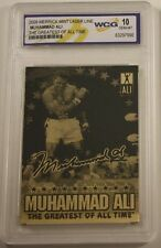 Muhammad Ali Gold Card Boxer Autograph Boxing Gloves Sporting Legend Olympic Win