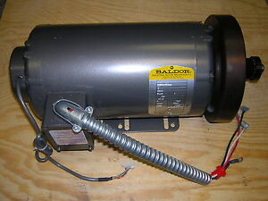Baldor industrial motor 3 hp 4000 rpm 35p927t345 for 4000 rpm dc motor