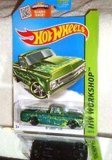 2015 Hot Wheels Kmart Days Workshop #208 '67 Chevy C10 - (Super Green)