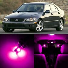 12 x Ultra Pink Interior LED Lights Package For 2001- 2005 Lexus IS300