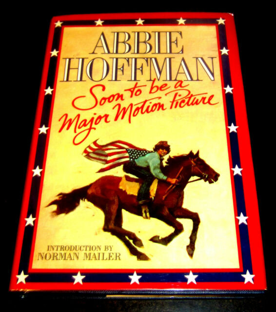 ABBIE HOFFMAN SOON MAJOR MOTION PICTURE YIPPIES Psychedelic LSD First Ed Review
