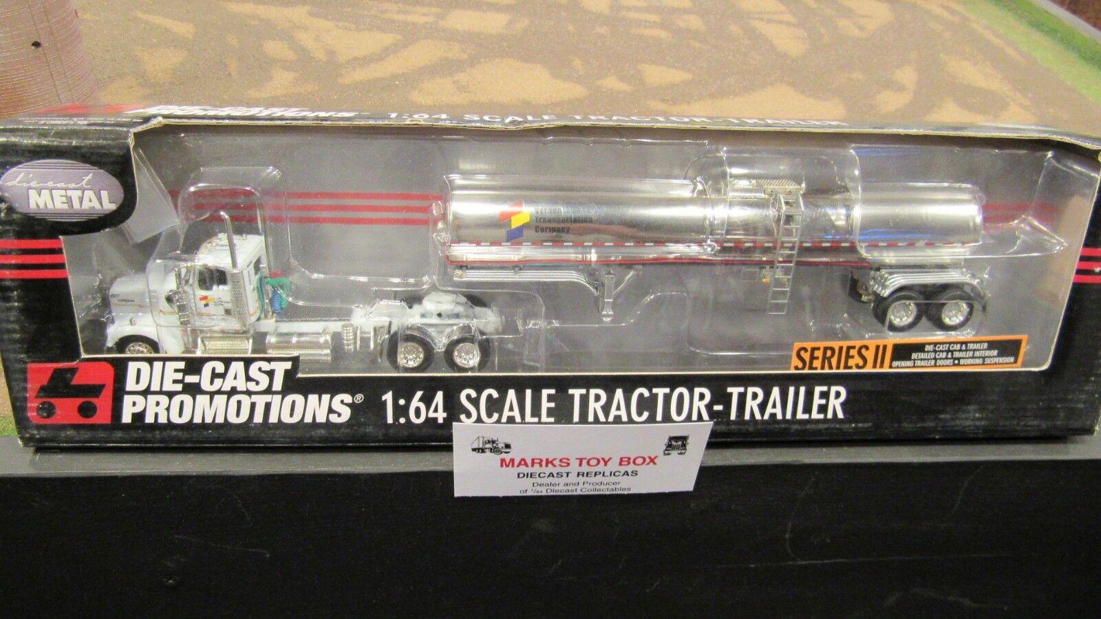 barato DCP 30977 W900 empresa de transporte Vernon Semi Camión Camión Camión Remolque química 1 64 FC  respuestas rápidas