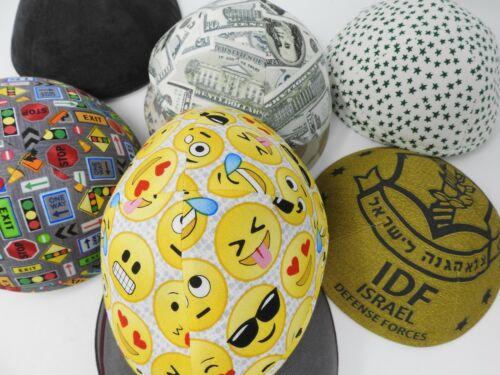 iKIPPAH Yarmulke Jewish Religious Skullcap Hat Various Prints NWOT