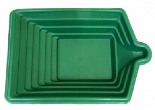 grün Goldwaschen USA Goldwaschpfanne LETRAP Square Pan  45 cm x 30 cm