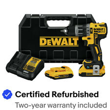 DEWALT 20V MAX XR Tool Connect Hammer Drill Kit DCD797D2R Certified Refurbished
