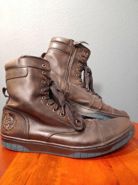 Diesel Shoes Basket Butch Zippy BOOTS