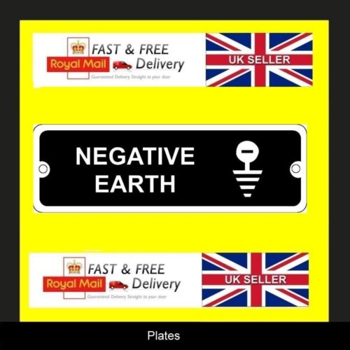 Land Rover Series 2a 101 12v Front Panel Negative Earth Info vin chassis plate
