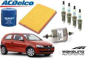 ACDelco-Service-Kit-Holden-Barina-XC-2001-2009-Air-Oil-Fuel-Filters-Spark-Plugs