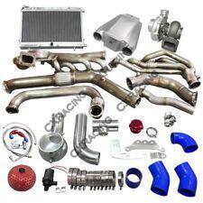 Cx Turbo Header Manifold Intercooler Heat Exchanger Kit For 65 Ford Mustang V8