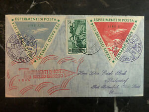 1934 Trieste Italy Rocket Mail Cover to Germany