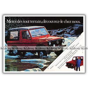 PUB-MERCEDES-BENZ-CLASSE-G-4X4-Gelandewagen-Original-Advert-Publicite-80-039-s-1