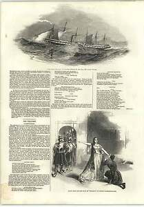 1845-Great-Britain-Steamship-Lundy-Island-Storm-Honesty-Covent-Garden