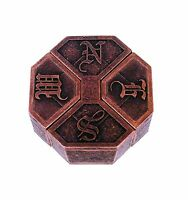 News Hanayama Cast Metal Brain Teaser Puzzle (level 6) Free Shipping