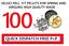 Conçu Pour Co2 et Ressort à Air Pack De 50//100 Webley Veloci Pell .177 cal