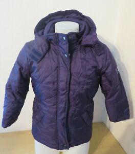 Details zu Impidimpi ° hübsche Jacke Gr. 98 104 lila Mädchen Kleidung Steppjacke Anorak