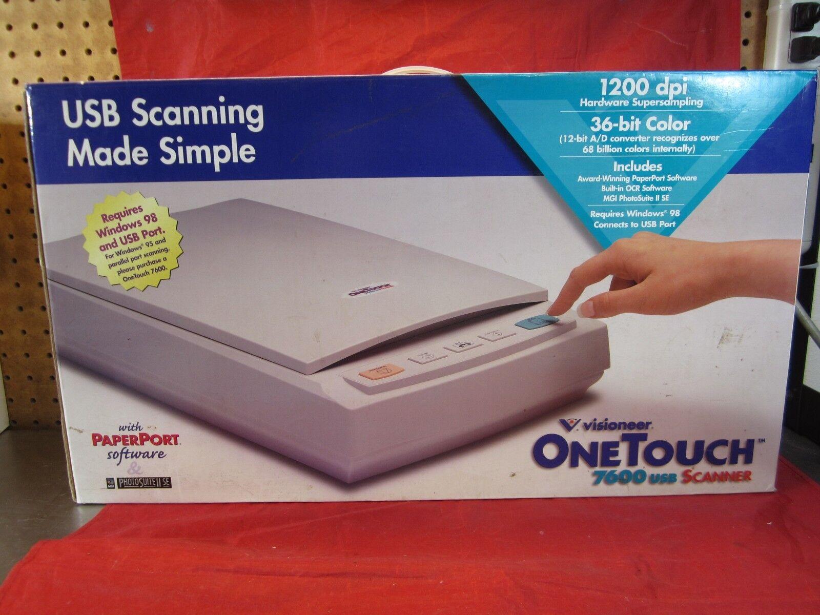 Visioneer 6100 scanner drivers.