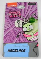 Nickelodeon Invader Zim Gir Alien As Dog Doom 3 Charm Pendant Necklace