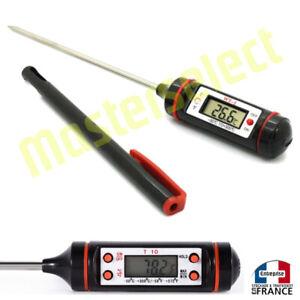 details sur thermometre de cuisine cuisson pour temperature digital electronique avec sonde