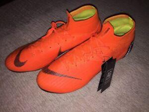 innovative design 3adf9 3427a Details about Nike Mercurial Superfly VI 6 Elite AG Soccer Shoes, Size 10,  Vapor, Hypervenom