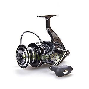 Big game spinning fishing reel 12 1 bb fddl de 9000 10000 for Big game fishing reels