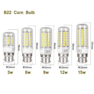 B22-e27-e14-g9-5730-DEL-Ampoule-Ampoule-Mais-Lumiere-Ampoule-Lampe-9-W-12-W-15-W