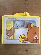Rilakkuma Stationary Set [Rulers, bag, pencil case, pencil, erasers, ect]
