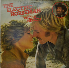 """OST - SOUNDTRACK - THE ELECTRIC HORSEMAN - WILLIE NELSON 12""""  LP (N258)"""