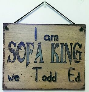 Image Is Loading Prank Sign Sofa King Retard Prank Gag Joke