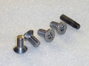 4x-Brake-Disc-T40-Torx-Screws-Bolts-Stainless-Steel-Renault-Clio-Duster-Scenic