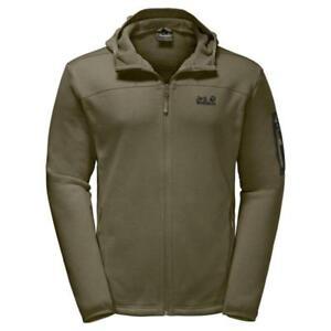 low priced bfb91 0f7a4 Details zu Jack Wolfskin Castle Rock Hooded Jacket Herren burnt olive *UVP  119,99