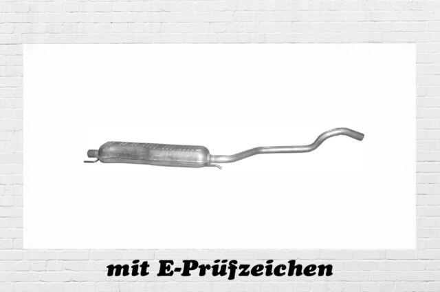 Opel Zafira A B 1.6 1.8 2.2 Mittelschalldämpfer Auspuff Mitteltopf ab Bj.06.2003
