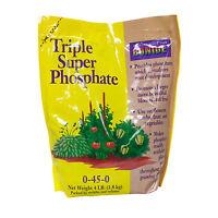 Plant Fertilizer Phosphorous Triple Super Phosphate 0-45-0 Stimulates Roots 4lb
