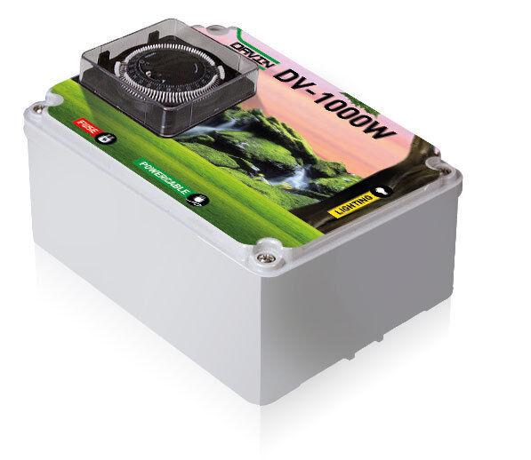 Davin Hobby Timer DV-1000 S1230 Relaisbox Timerbox  Relaiskasten 1x1000W 5A Grow