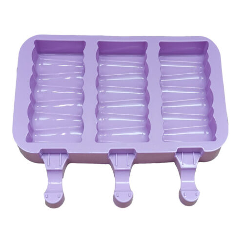 Frozen Ice Cream DIY Pop Mold Popsicle Maker Lolly Mould Stick Silicone Summer!