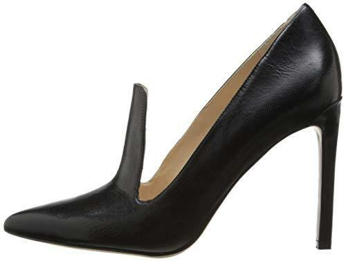 WICKED  Nine West  Thorie Thorie Thorie  Women US 12 M Black Leather Jacked Pointy Toe 2331d7