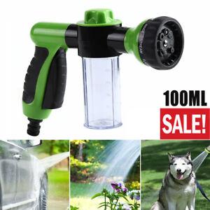 High-Pressure Sprayer Nozzle Hose Gun Car Pet Wash Cleaning Water Foam Soap