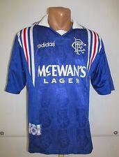 RANGERS GLASGOW 1996/1997 HOME FOOTBALL SHIRT JERSEY CAMISETA ADIDAS SCOTLAND S