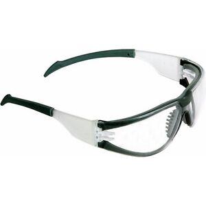 scelta migliore forma elegante super economico Dettagli su Occhiali Protettivi di Protezione con Stanghette Avvolgenti  Lenti Trasparenti Ma