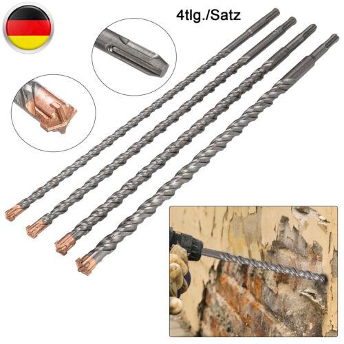 4 Tlg 7 Tlg SDS PLUS Bohrer Hammerbohrer Betonbohrer Steinbohrer Stein Set