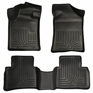 Husky-Liners-WeatherBeater-Floor-Mats-3pc-99641-For-Nissan-Altima-13-18-Black
