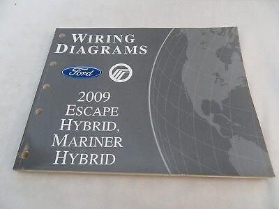 2009 FORD ESCAPE HYBRID MARINER HYBRID DIAGRAMS SERVICE ...