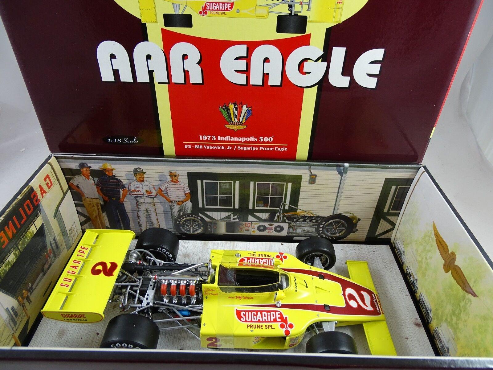 1 18 Carousel  4702 Aar Eagle 1973 Indianapolis 500  2 Rarità §
