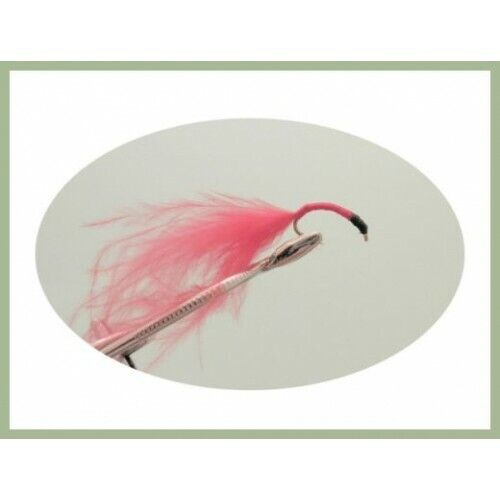 Fishing Flies 6 x Black Head Bloodworm Choice of Sizes Bloodworms,Trout Flies
