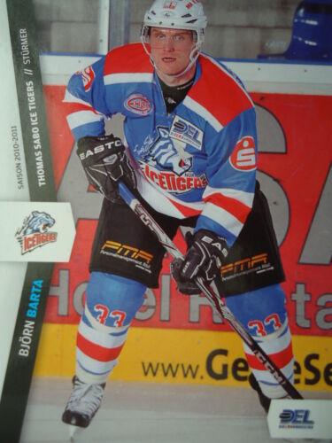 253 Björn Barta nuremberg ice Tigre del 2010-11
