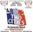 Two Cities [Original London Cast Recording] by Jerry Wayne/Jeff Wayne (CD, Jun-2016, Stage Door)