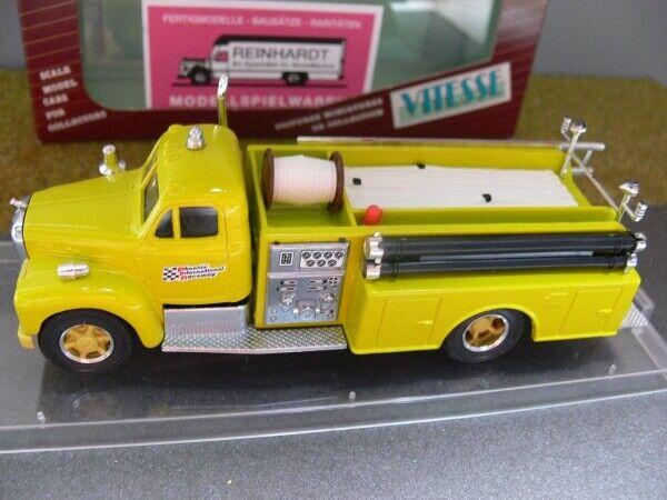 1 50 Vitesse Mack Fire Pump Truck Phoenix Gelb mit Weißer Spuhle 430.4