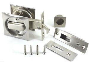 Image Is Loading 2130 SQUARE Sliding Door HOOK LOCK Bathroom Lock