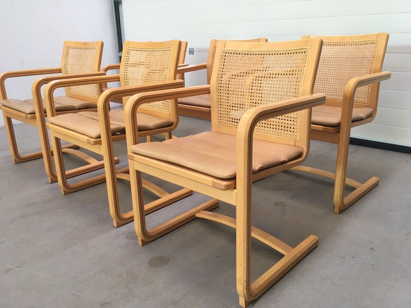 Spisebordsstol, Bøg flet læder
