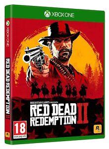 RED DEAD REDEMPTION 2 XBOX ONE PAL ESPAÑA NUEVO PRECINTADO...