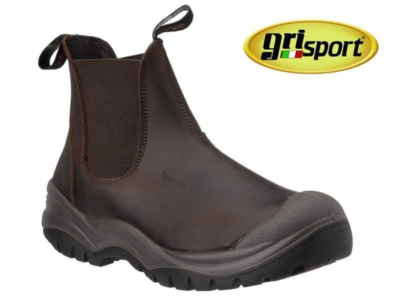 Distribuidor De Seguridad grisPORT Chukka botas-Puntera De Acero botas De Trabajo